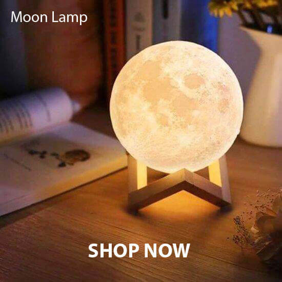 Galaxdream 3D Moon Lamp