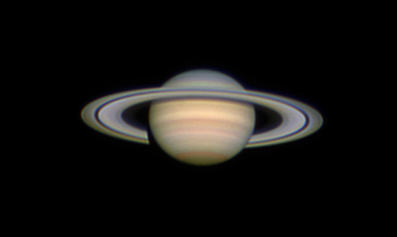 Saturn, in March 2007